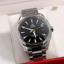 Omega pre-owned Automatic 41.5mm Black Sapphire crystal 15 ATM