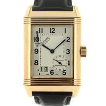 Jaeger-LeCoultre Or rose Remontage manuel 29mm occasion Reverso Grande Date