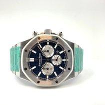 Audemars Piguet Royal Oak Chronograph Stahl 41mm Blau Keine Ziffern