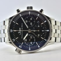 Sinn 6000 Steel 38,5mm Black No numerals