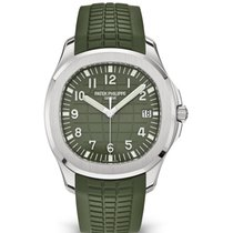 Patek Philippe Aquanaut White gold 42.2mm Green Arabic numerals United States of America, Iowa, Des Moines