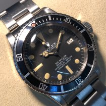 Rolex Sea-Dweller Steel 40mm Black No numerals