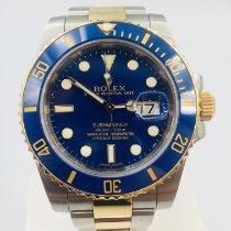 Rolex Submariner Date 116613LB Très bon Or/Acier 40mm Remontage automatique