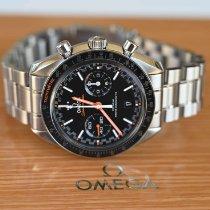 Omega nou Atomat Secunda mica Cronometru 44.25mm Otel Sticlă de safir