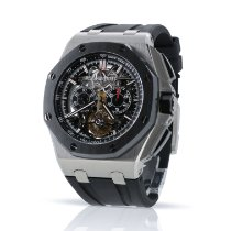 Audemars Piguet Royal Oak Offshore Tourbillon Chronograph Титан 44mm Прозрачный