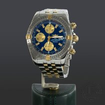 Breitling Chronomat Evolution Acero y oro 39mm Azul Sin cifras España, Madrid