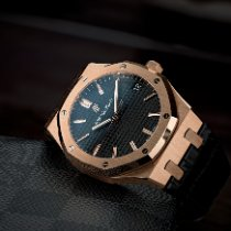 Audemars Piguet Royal Oak Rose gold 41mm Black No numerals United States of America, Texas, Austin