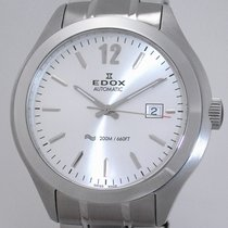 Edox Stahl 45mm Automatik 80111-3M-AIN neu