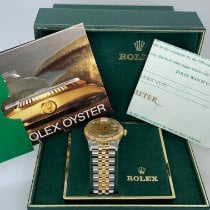 Rolex Oyster Perpetual Date Gold/Steel 34mm White No numerals United States of America, New York, New York
