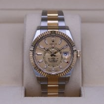 Rolex Sky-Dweller Gold/Steel 42mm Champagne No numerals United States of America, Tennesse, Nashville
