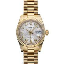 Rolex 179178G Or jaune 2015 Lady-Datejust 26mm occasion