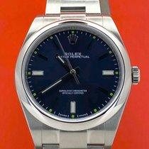 Rolex Oyster Perpetual 39 Stahl 39mm Blau Keine Ziffern Österreich, Wien