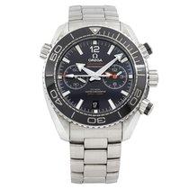 Omega Seamaster Planet Ocean Chronograph 215.30.46.51.01.001 Sehr gut Stahl 45mm Automatik