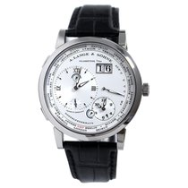 A. Lange & Söhne Lange 1 White gold 41.9mm Silver Roman numerals United States of America, New York, New York