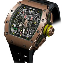 Richard Mille RM 011 Rose gold Transparent