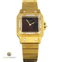 Cartier Oro giallo 1990 Santos (submodel) 29mm nuovo