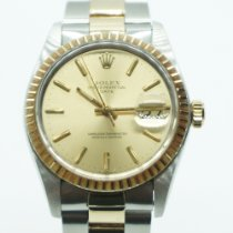 Rolex Oyster Perpetual Date Gold/Steel 34mm Gold No numerals United States of America, Florida, Miami
