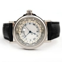 Breguet Marine White gold 38mm Silver United States of America, Florida, Aventura