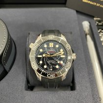 Omega Seamaster Diver 300 M Steel 42mm Black No numerals