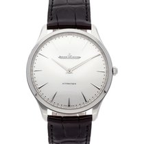Jaeger-LeCoultre Steel Automatic Silver No numerals 41mm new Master Ultra Thin