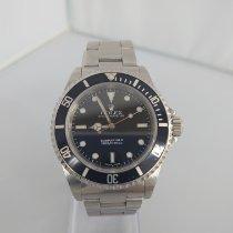 롤렉스 서브마리너 (노 데이트) 중고시계 40mm 검정색 스틸