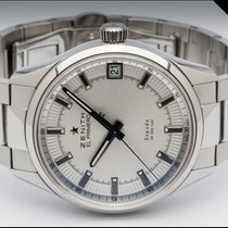 Zenith Steel 40mm Automatic 03.2170.4650/01.m2170 pre-owned Finland, Imatra