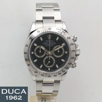 Rolex Daytona Zeljezo 40mm Crn Bez brojeva