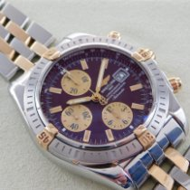 Breitling Chronomat Evolution Gold/Stahl 44mm Bordeaux