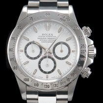 Rolex Daytona Acier 40mm Blanc Sans chiffres