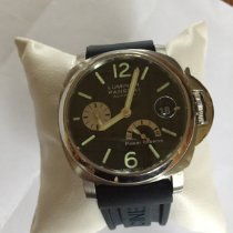 Panerai Luminor Power Reserve Acier 40mm Noir Arabes France, St Jean du Thenney