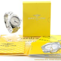 Breitling Colt GMT Steel 40mm Champagne Arabic numerals