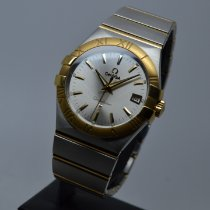 Omega Constellation Quartz Zlato/Ocel 35mm Stříbrná