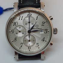 Martin Braun Steel 42mm Automatic Germany new