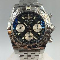 Breitling Chronomat 41 Сталь 41mm Черный Без цифр
