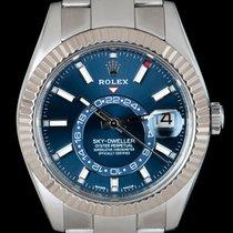 Rolex Sky-Dweller Ατσάλι 42mm Μπλέ