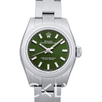 Rolex Oyster Perpetual 26 Acero 26mm Verde
