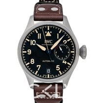 IWC Big Pilot Titanium 46.2mm Zwart