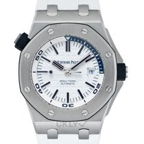 Audemars Piguet Royal Oak Offshore Diver Acier 42mm Blanc