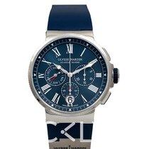 Ulysse Nardin Marine Chronograph 43mm Blue