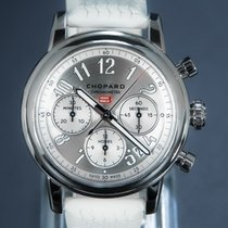 Chopard Steel Automatic Silver Arabic numerals 39mm pre-owned Mille Miglia