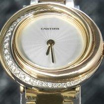 Cartier Gelbgold 27mm Quarz 2357 gebraucht