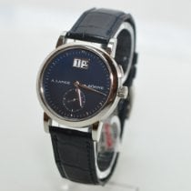 A. Lange & Söhne pre-owned Manual winding 34mm Blue Sapphire crystal 3 ATM