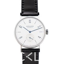 NOMOS Tangomat Staal 38.3mm Wit