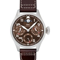 IWC Big Pilot Steel 46mm Brown