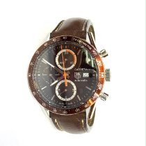 TAG Heuer Carrera Calibre 16 Steel 41mm Brown No numerals United States of America, New York, New York