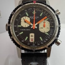 Breitling Chrono-Matic 49 Сталь Черный