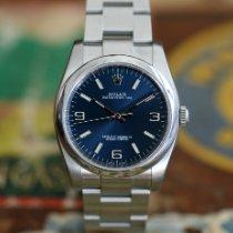 Rolex Oyster Perpetual 36 Stål 36mm Blå Arabiska