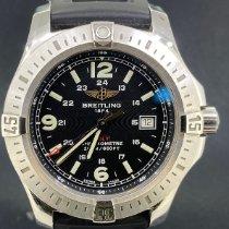 Breitling Stål 44mm Kvarts A7438811/BD45 brugt