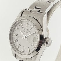 Rolex Oyster Perpetual Lady Date Steel 26mm White
