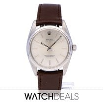 Rolex Oyster Perpetual Steel 38mm White